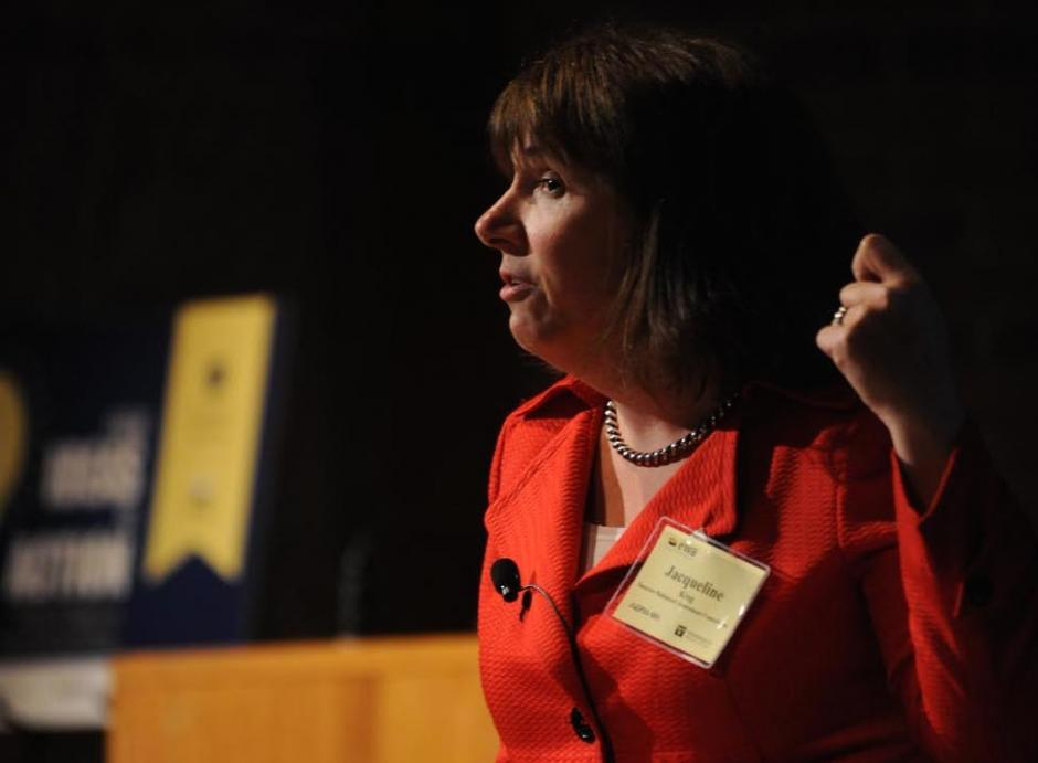 Jacqueline King speaks at the 67th National Seminar.